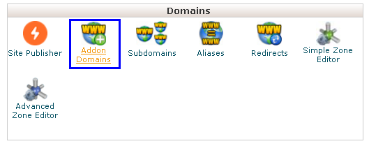 How to Add and Remove an Add-on Domain in cPanel